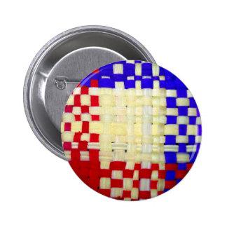 Modelo rojo del azul y del amarillo de la armadur pin