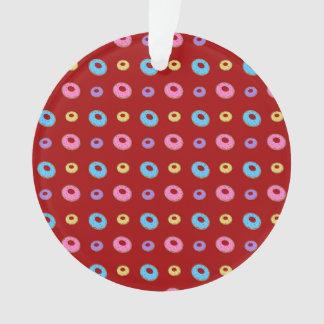 Modelo rojo del buñuelo