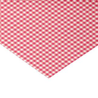Modelo rojo del control de la guinga del país papel de seda pequeño