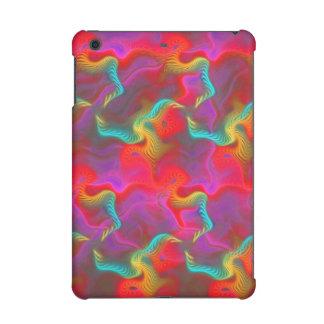 Modelo rojo del fractal del trullo rosado
