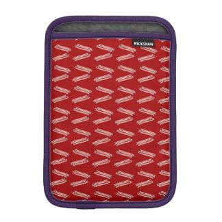 Modelo rojo del tocino funda iPad mini