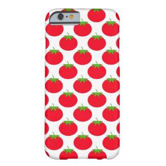 Modelo rojo del tomate funda barely there iPhone 6