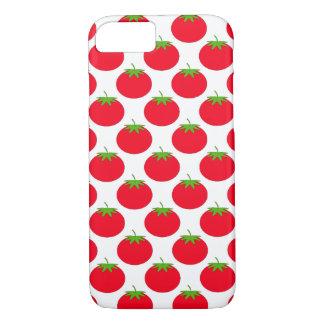 Modelo rojo del tomate funda iPhone 7