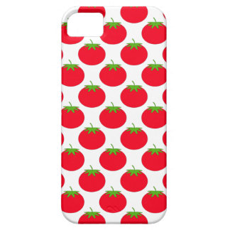 Modelo rojo del tomate funda para iPhone SE/5/5s