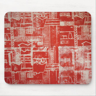 Modelo rojo Mousemat de Derby Tapete De Raton