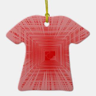 Modelo rojo romántico del TÚNEL de la raya Ornatos