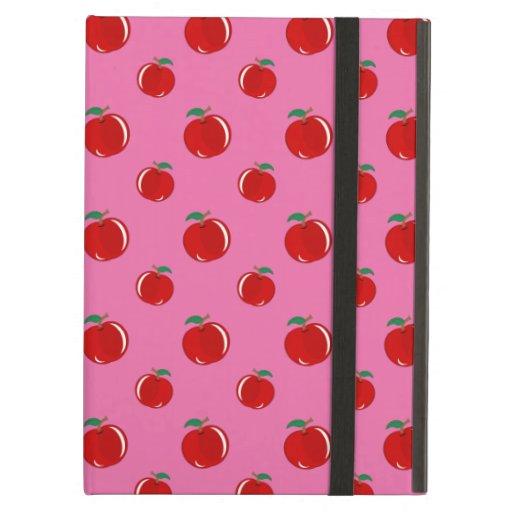 Modelo rojo rosa claro de la manzana