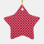 Modelo rojo simple del día de fiesta del navidad adorno