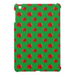 Modelo rojo verde de la manzana iPad mini protectores