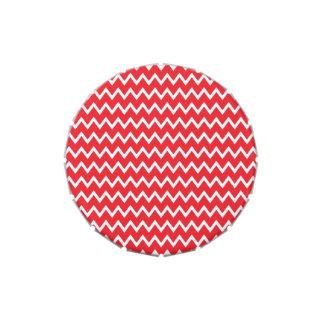 Modelo rojo y blanco de Chevron