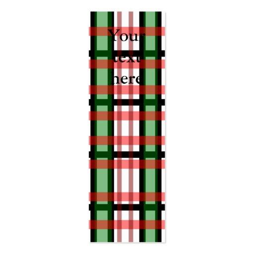 Modelo rojo y blanco verde negro moderno de la tel tarjetas de negocios