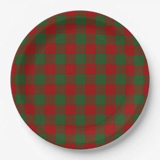 Modelo rojo y verde de la guinga