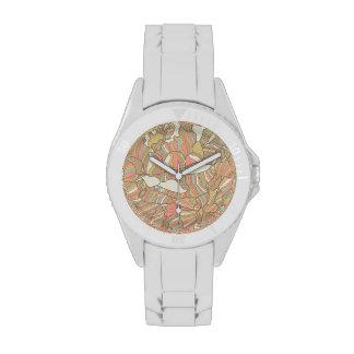 Modelo romántico hecho de las flores del peony reloj de mano