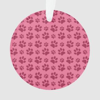 Modelo rosa claro de la impresión de la pata del p