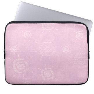 Modelo rosa claro de Sun Mangas Computadora