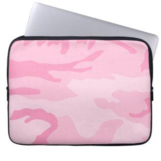 Modelo rosa claro del camuflaje manga portátil