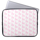 Modelo rosa claro y blanco del cochecito de bebé fundas computadoras