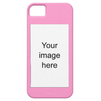 Modelo rosa de plantilla en blanco fácil y rápida iPhone 5 carcasa