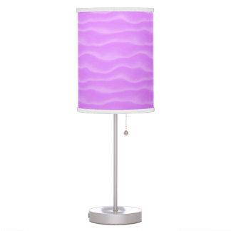 Modelo rosado abstracto magnífico lindo y femenino lámpara de escritorio