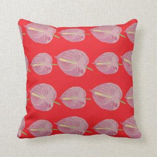 modelo rosado apasionado del Anthurium Cojin