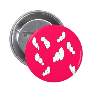 modelo rosado brillante de la burbuja triple pin