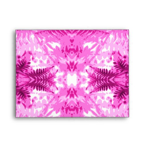 Modelo rosado brillante de la hoja del helecho