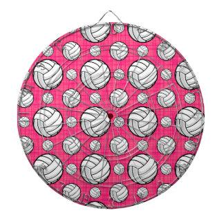 Modelo rosado brillante del voleibol