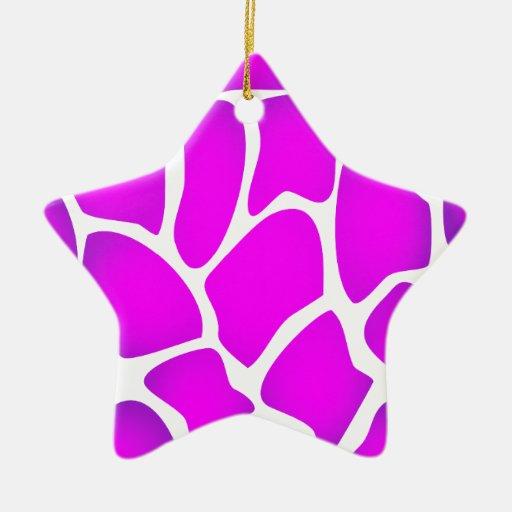 Modelo rosado brillante ornamento de navidad