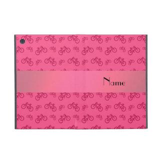 Modelo rosado conocido personalizado de la bicicle iPad mini cárcasa