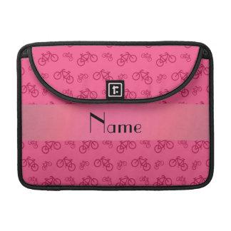 Modelo rosado conocido personalizado de la bicicle fundas macbook pro