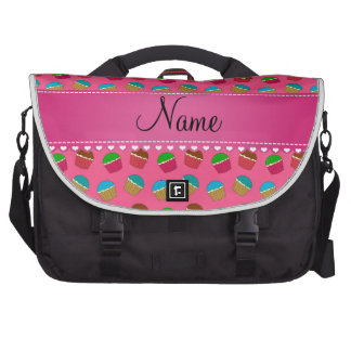 Modelo rosado conocido personalizado de la bolsas para portátil