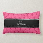 Modelo rosado conocido personalizado de la almohada