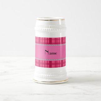 Modelo rosado conocido personalizado de la tela es taza de café