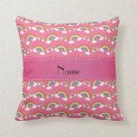 Modelo rosado conocido personalizado de los arco i cojines