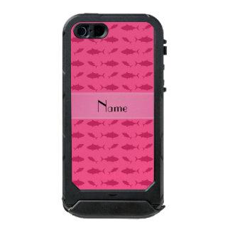 Modelo rosado conocido personalizado del atún de funda para iPhone 5 incipio ATLAS ID
