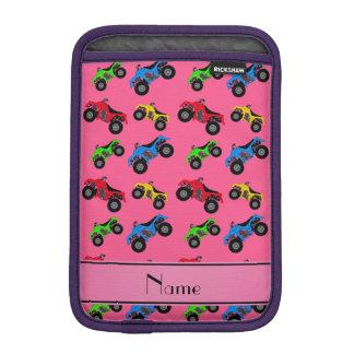 Modelo rosado conocido personalizado del atv fundas para iPad mini