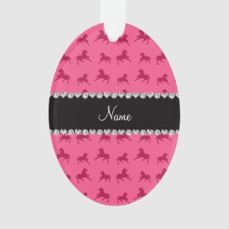 Modelo rosado conocido personalizado del caballo