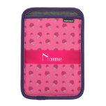 Modelo rosado conocido personalizado del helado funda iPad mini