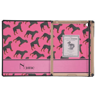 Modelo rosado conocido personalizado del perro del