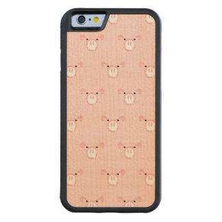 Modelo rosado de la cara del cerdo