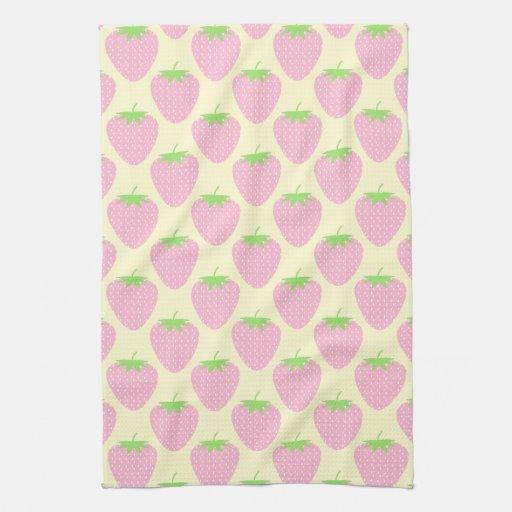 Modelo rosado de la fresa toalla