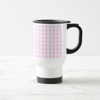 Modelo rosado de la guinga tazas