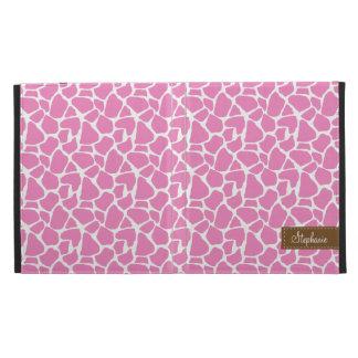 Modelo rosado de la jirafa