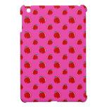 Modelo rosado de la manzana iPad mini carcasas