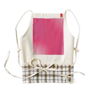 Modelo rosado de la pendiente delantal zazzle HEART