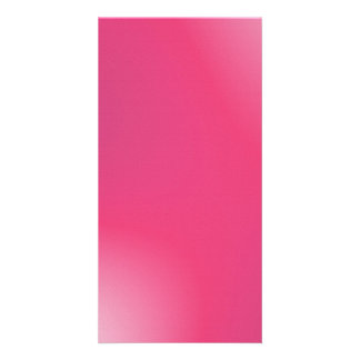 Modelo rosado de la pendiente tarjetas con fotos personalizadas