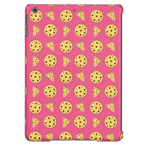 modelo rosado de la pizza funda para iPad air