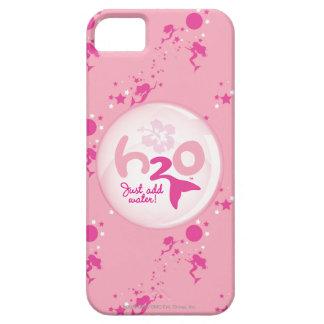 Modelo rosado de la sirena funda para iPhone 5 barely there
