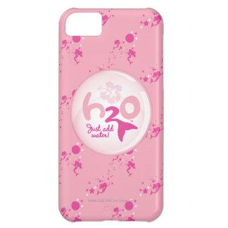 Modelo rosado de la sirena funda para iPhone 5C