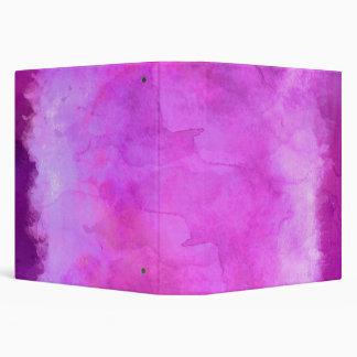 """Modelo rosado de la textura de la acuarela de la carpeta 1 1/2"""""""